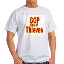 GOP Den of Thieves Ash Grey T-Shirt