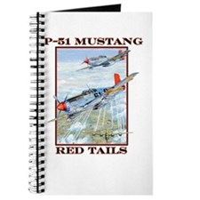 WWII Tuskegee P-51 Mustang airplane Journal