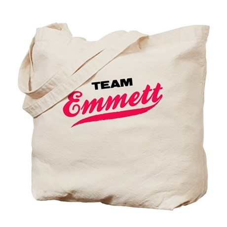 Team Emmett Twilight Tote Bag