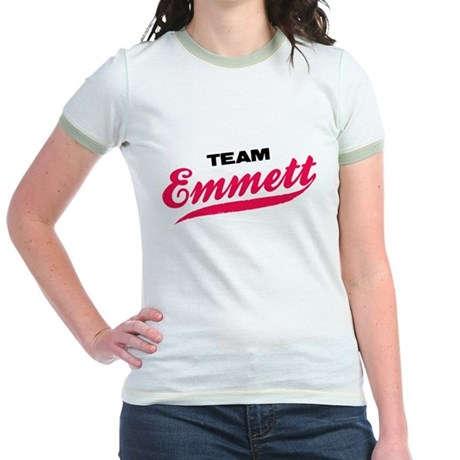 Team Emmett Twilight Jr. Ringer T-Shirt