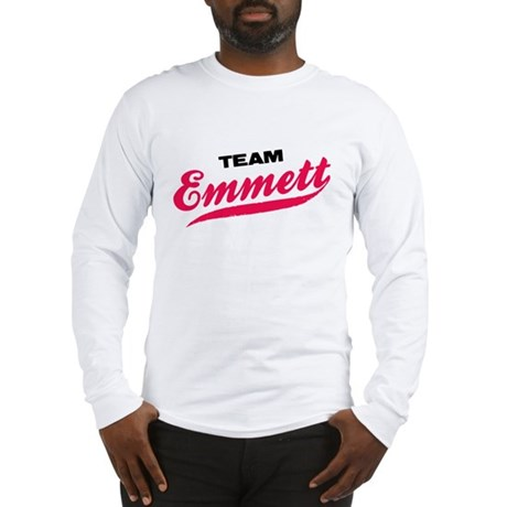 Team Emmett Twilight Long Sleeve T-Shirt