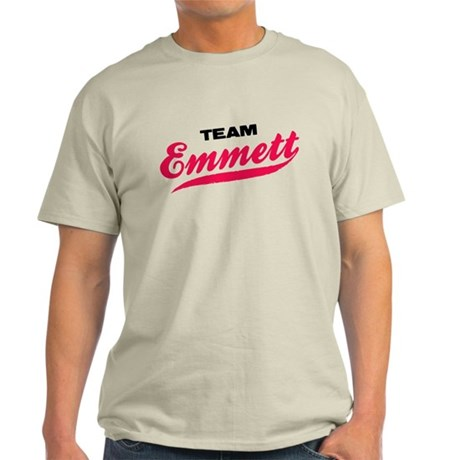 Team Emmett Twilight Light T-Shirt