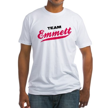 Team Emmett Twilight Fitted T-Shirt