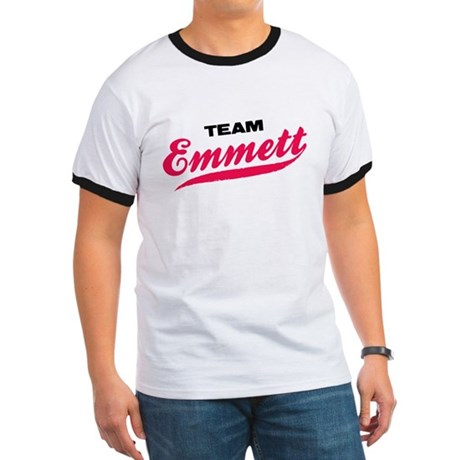 Team Emmett Twilight Ringer T