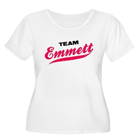 Team Emmett Twilight Women's Plus Size Scoop Neck