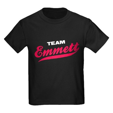 Team Emmett Twilight Kids Dark T-Shirt