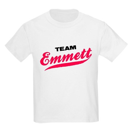 Team Emmett Twilight Kids Light T-Shirt