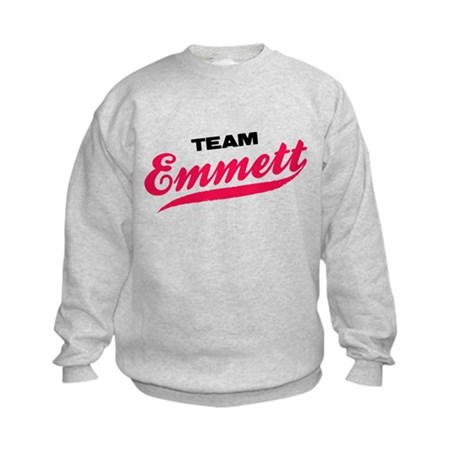 Team Emmett Twilight Kids Sweatshirt