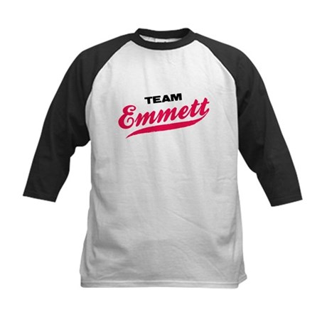 Team Emmett Twilight Kids Baseball Jersey