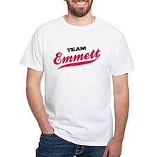 Team Emmett Twilight White T-Shirt
