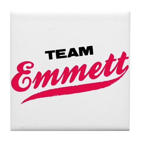 Team Emmett Twilight Tile Coaster