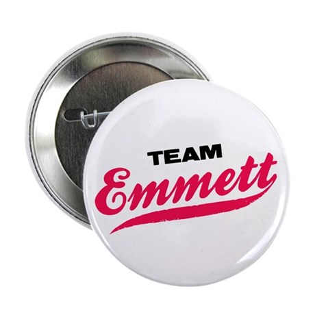 "Team Emmett Twilight 2.25"" Button"