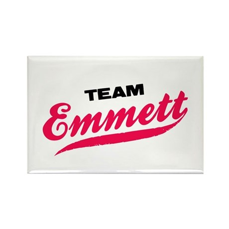 Team Emmett Twilight Rectangle Magnet