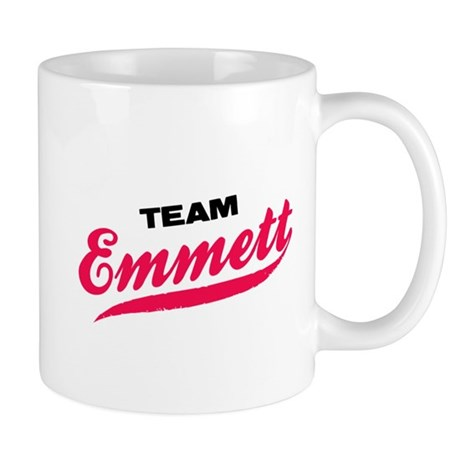 Team Emmett Twilight Mug