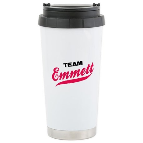 Team Emmett Twilight Ceramic Travel Mug