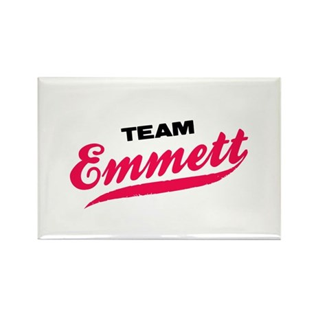 Team Emmett Twilight Rectangle Magnet (100 pack)