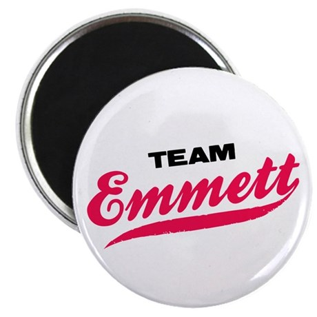 Team Emmett Twilight Magnet