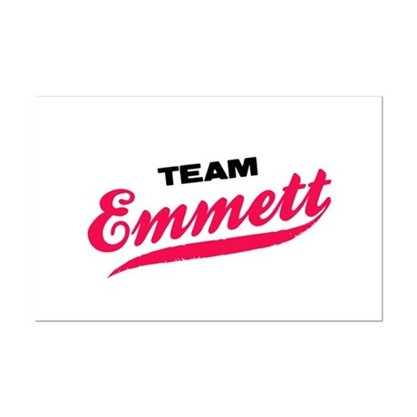 Team Emmett Twilight Mini Poster Print