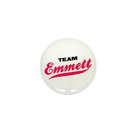 Team Emmett Twilight Mini Button