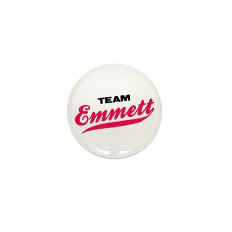 Team Emmett Twilight Mini Button (100 pack)