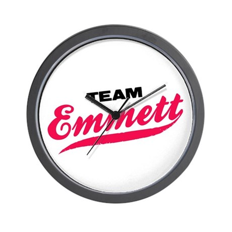 Team Emmett Twilight Wall Clock