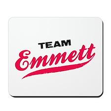 Team Emmett Twilight Mousepad