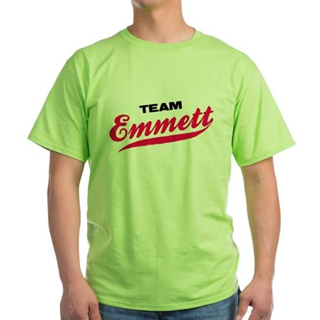 Team Emmett Twilight Green T-Shirt