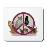 Cats for Peace Mousepad