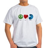 Peace Love Agility T-Shirt