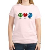 Peace Love Agility Women's Light T Shirt