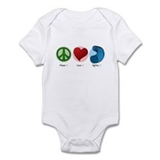 Peace Love Agility Infant Bodysuit