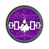 Akwesasne Mohawk Wall Clock