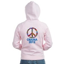 Re Elect Obama in 2012 Zip Hoodie