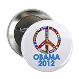 "Re Elect Obama in 2012 2.25"" Button (100 pack)"