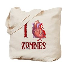 I *heart* Zombies Tote Bag