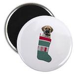 Puggle Christmas Magnet