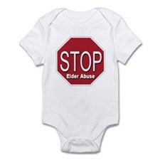 Stop Elder Abuse Infant Bodysuit