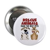"Rescue Animals 2.25"" Button (100 pack)"
