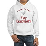 Play Buzkashi Hooded Sweatshirt