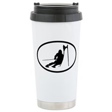 SKI Ceramic Travel Mug