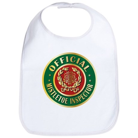Official Mistletoe Inspector Bib