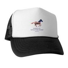 American Miniature Horse Flag Trucker Hat