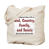 Tennis Priority - Tote Bag