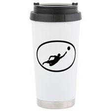 Volleyball Ceramic Travel Mug