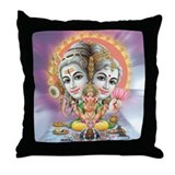 Ganesh Shiva Throw Pillow