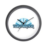 Twins - Twinspiration Wall Clock