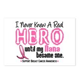 Never Knew A Hero 4 PINK (Nana) Postcards (Package