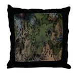 Custom Camoflauge Throw Pillow