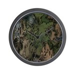 Custom Camoflauge Wall Clock