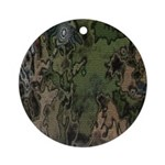 Custom Camoflauge Ornament (Round)